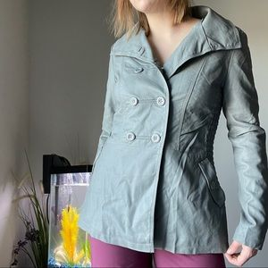 🌿NWT🌿 Downtown Coalition Faux Leather coat